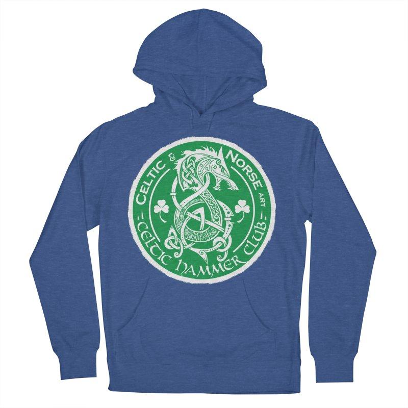 Celtic Hammer Club Irish Badge Logo Women's French Terry Pullover Hoody by Celtic Hammer Club