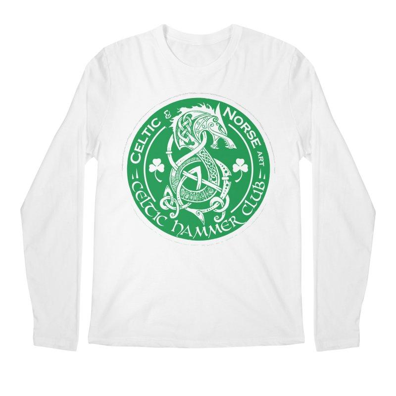 Celtic Hammer Club Irish Badge Logo Men's Regular Longsleeve T-Shirt by Celtic Hammer Club
