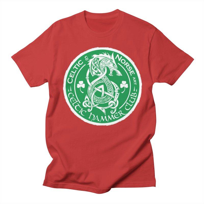 Celtic Hammer Club Irish Badge Logo Men's T-Shirt by Celtic Hammer Club