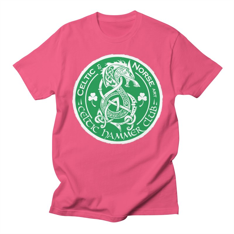 Celtic Hammer Club Irish Badge Logo Men's T-Shirt by Celtic Hammer Club