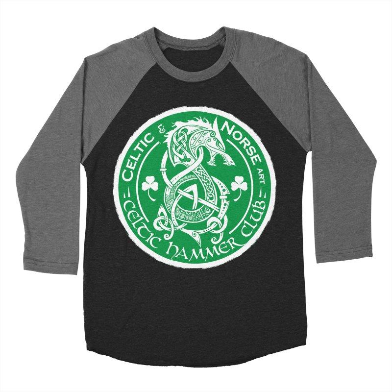 Celtic Hammer Club Irish Badge Logo Women's Baseball Triblend Longsleeve T-Shirt by Celtic Hammer Club