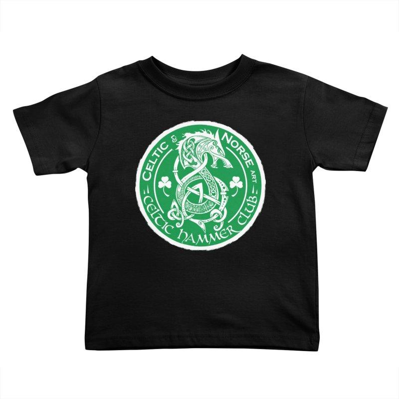 Celtic Hammer Club Irish Badge Logo Kids Toddler T-Shirt by Celtic Hammer Club