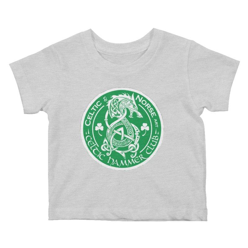 Celtic Hammer Club Irish Badge Logo Kids Baby T-Shirt by Celtic Hammer Club