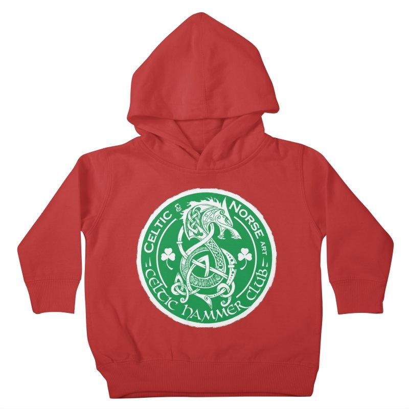 Celtic Hammer Club Irish Badge Logo Kids Toddler Pullover Hoody by Celtic Hammer Club