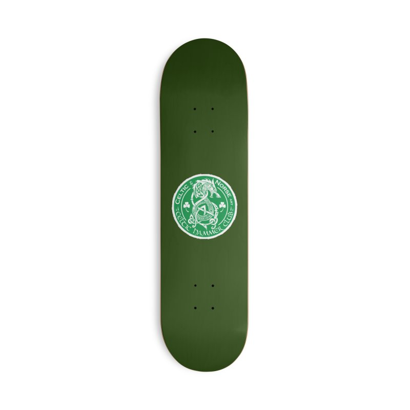 Celtic Hammer Club Irish Badge Logo Accessories Skateboard by Celtic Hammer Club