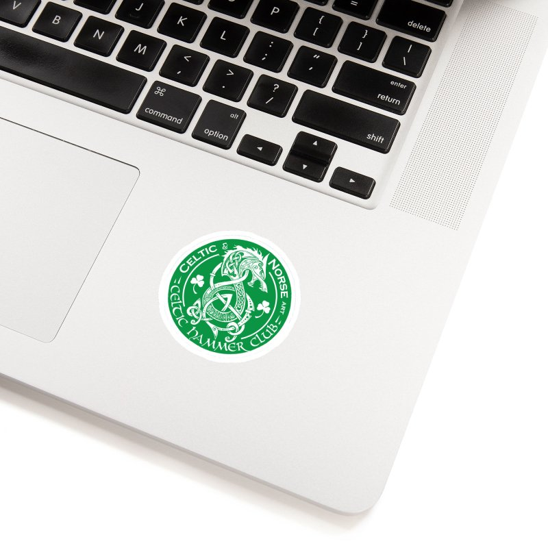 Celtic Hammer Club Irish Badge Logo Accessories Sticker by Celtic Hammer Club