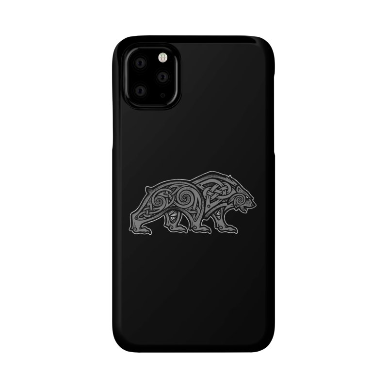 Bear Accessories Phone Case by Celtic Hammer Club
