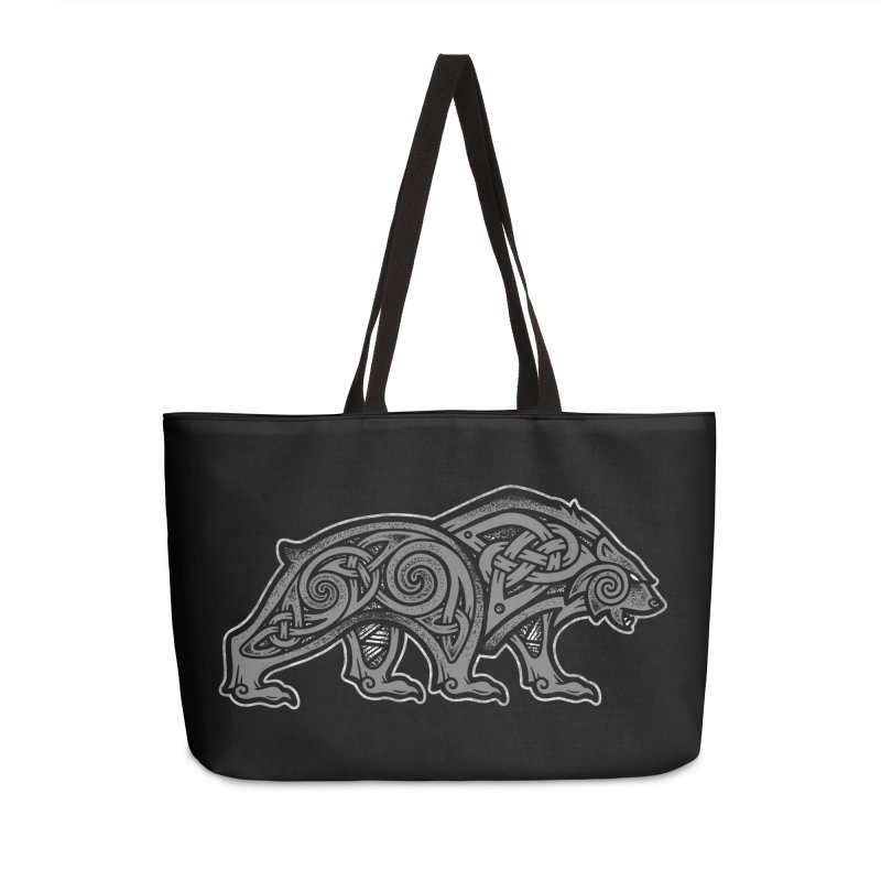 Bear Accessories Bag by Celtic Hammer Club
