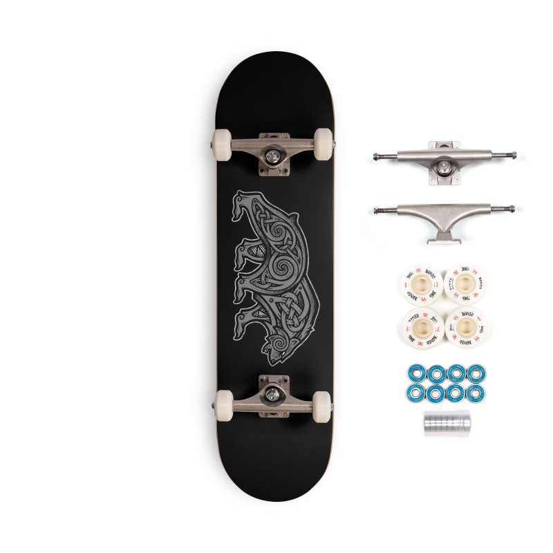 Bear Accessories Skateboard by Celtic Hammer Club