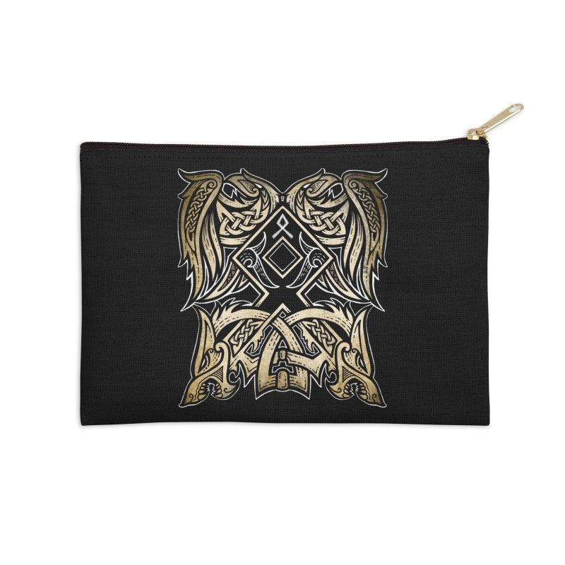Odal Accessories Zip Pouch by Celtic Hammer Club