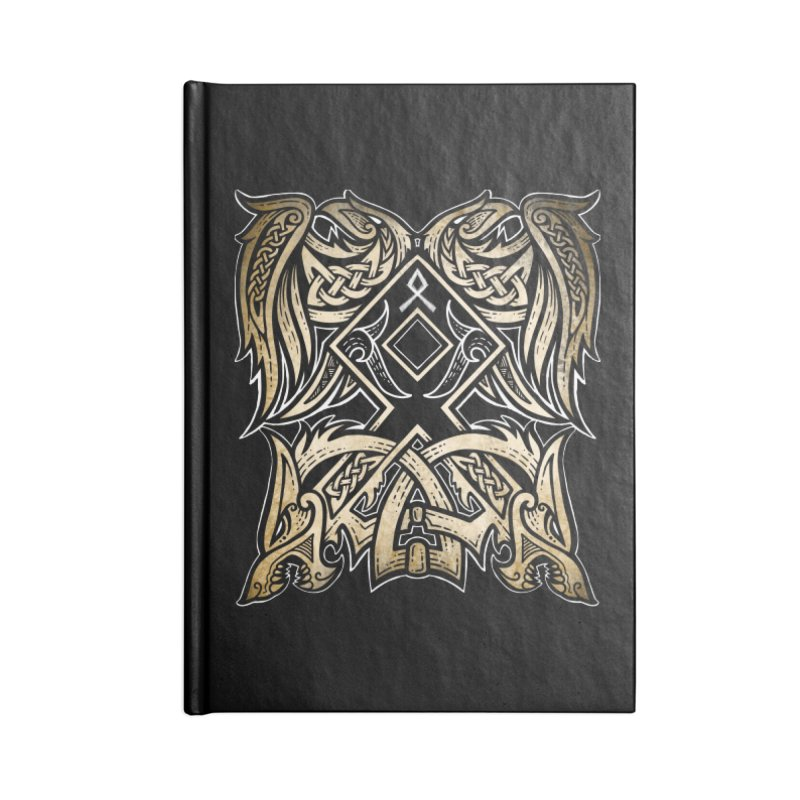 Odal Accessories Notebook by Celtic Hammer Club