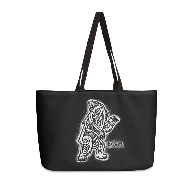 Bjorn the Bear Accessories Bag by Celtic Hammer Club