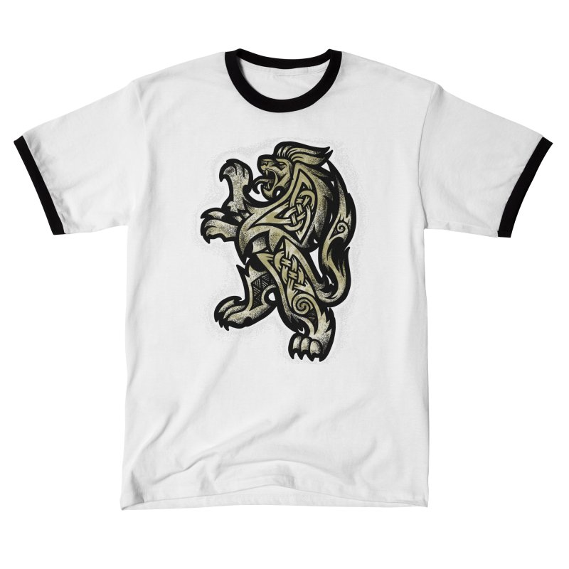 Heraldic Lion Women's T-Shirt by Celtic Hammer Club