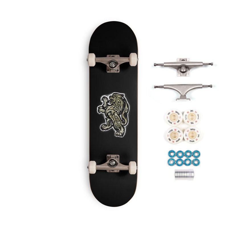 Heraldic Lion Accessories Skateboard by Celtic Hammer Club
