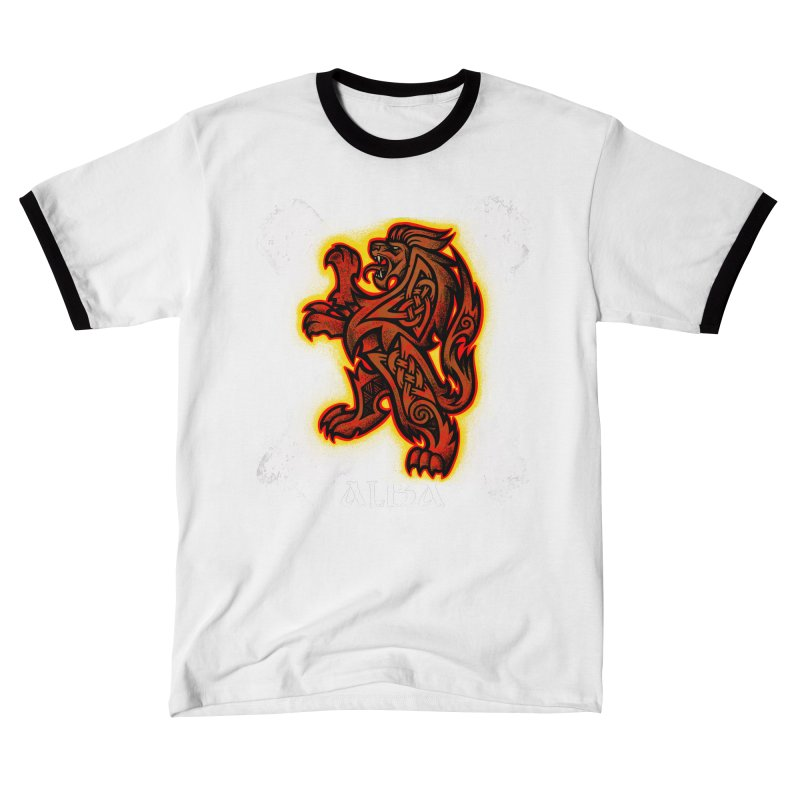 Scottish Lion and Saltire Women's T-Shirt by Celtic Hammer Club