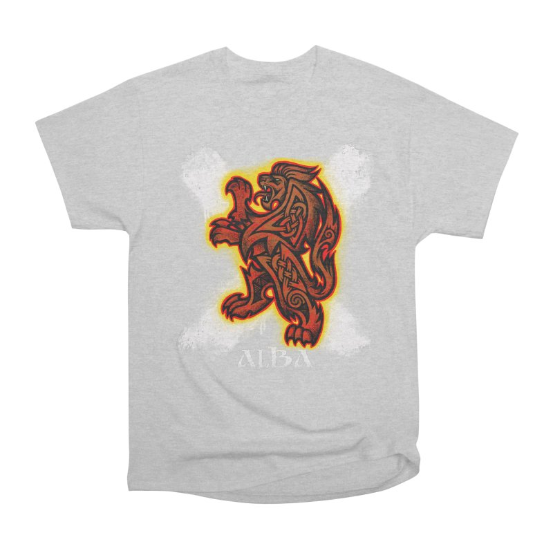 Scottish Lion and Saltire Men's T-Shirt by Celtic Hammer Club
