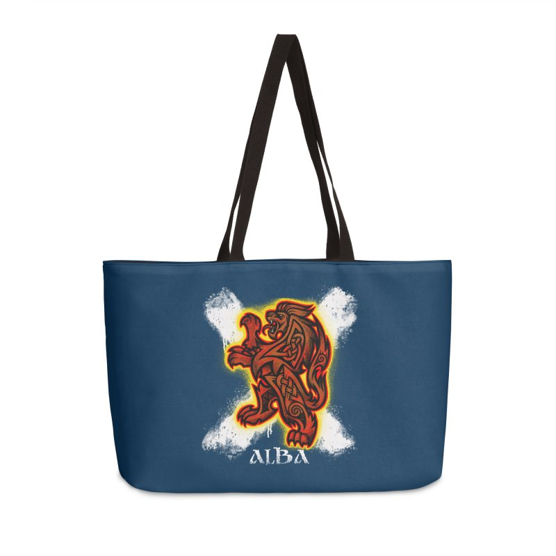 Scottish Lion and Saltire Accessories Bag by Celtic Hammer Club