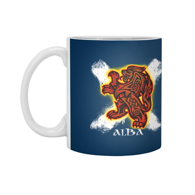 Scottish Lion and Saltire Accessories Mug by Celtic Hammer Club