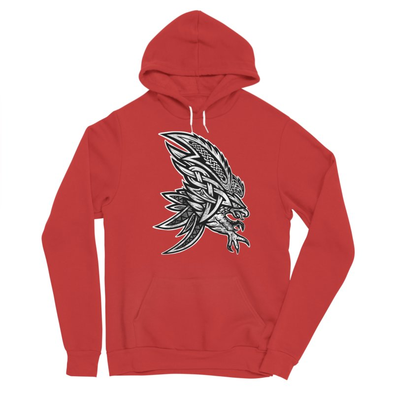 Eagle Men's Pullover Hoody by Celtic Hammer Club