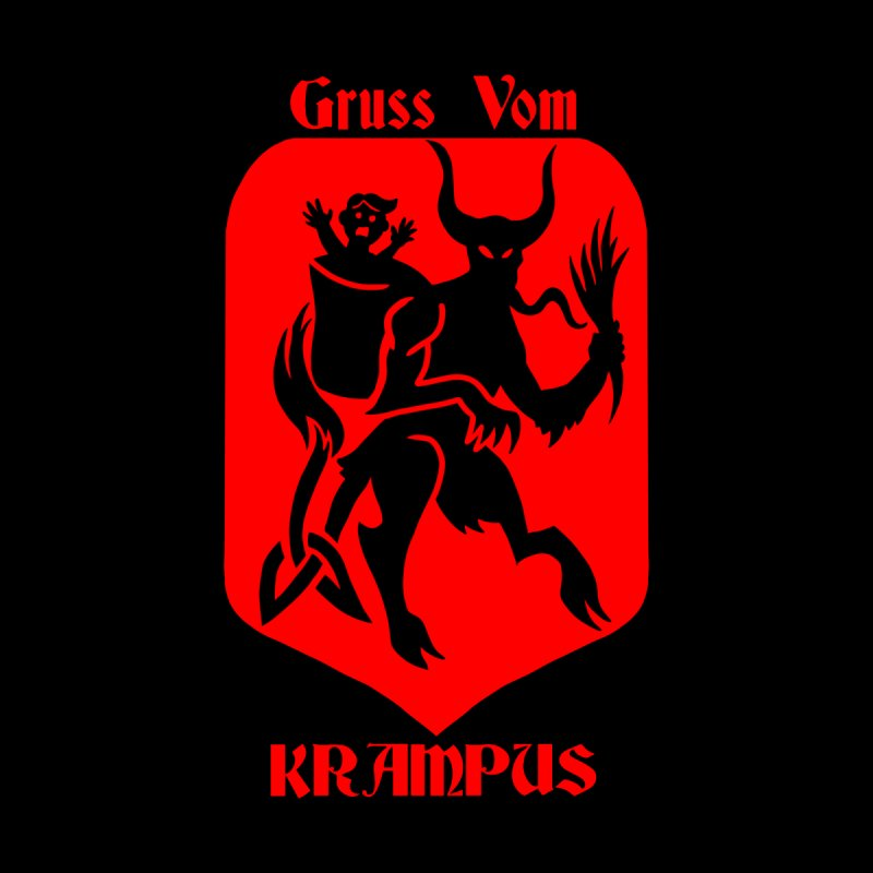 Krampus is Coming Men's Tank by Celtic Hammer Club