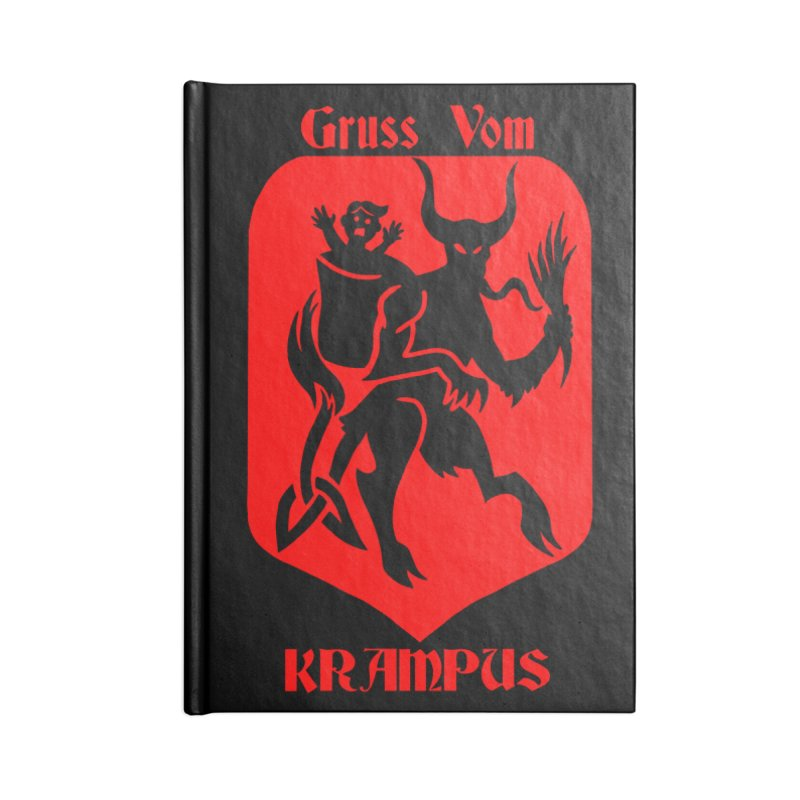 Krampus is Coming Accessories Notebook by Celtic Hammer Club