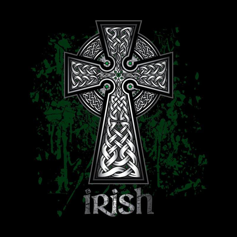 Irish Celtic Cross by Celtic Hammer Club Apparel