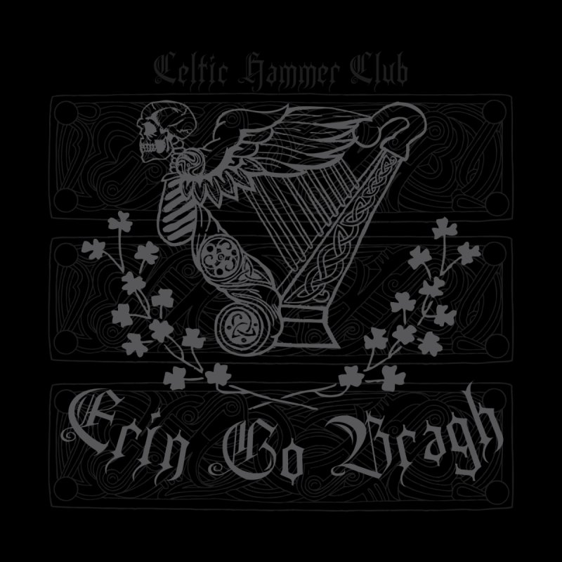 """Angel of Death"" Celtic Harp   by Celtic Hammer Club"