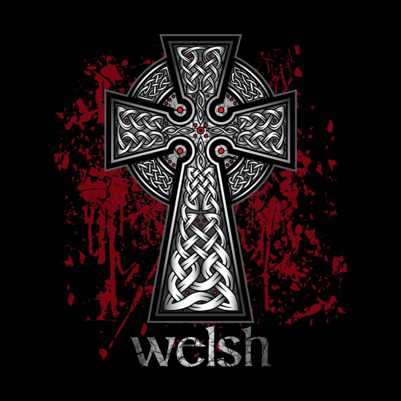 Welsh Celtic Cross Celtic Hammer Club Apparel