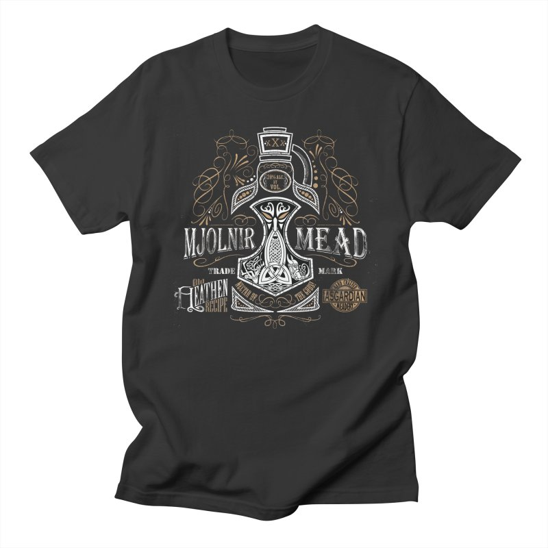 Mjölnir Mead Men's T-Shirt by Celtic Hammer Club
