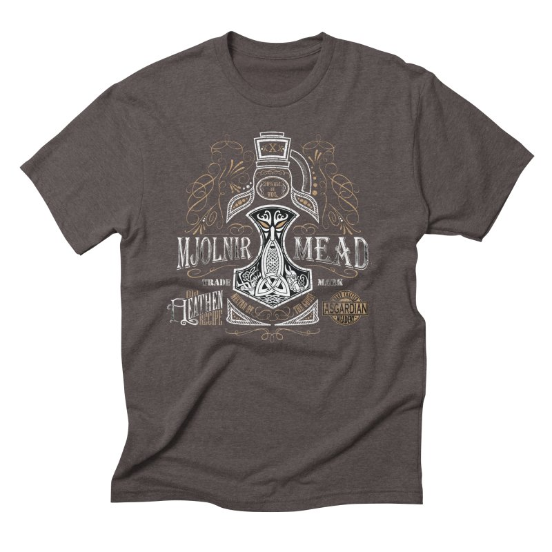 Mjölnir Mead Men's T-Shirt by Celtic Hammer Club