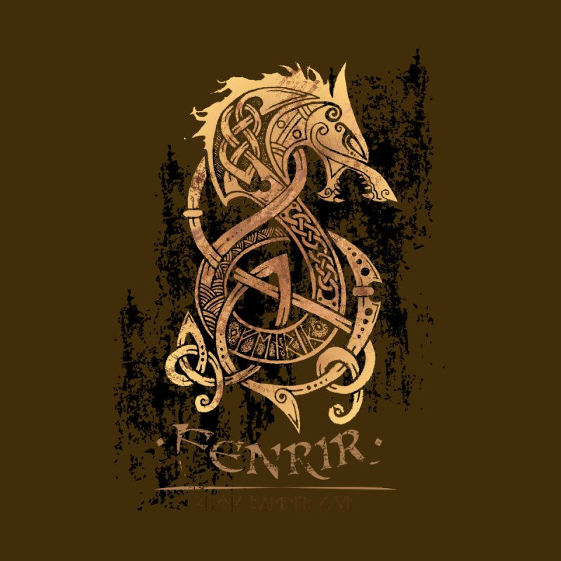 Fenrir: The Monster Wolf of Norse Mythology by Celtic Hammer Club Apparel