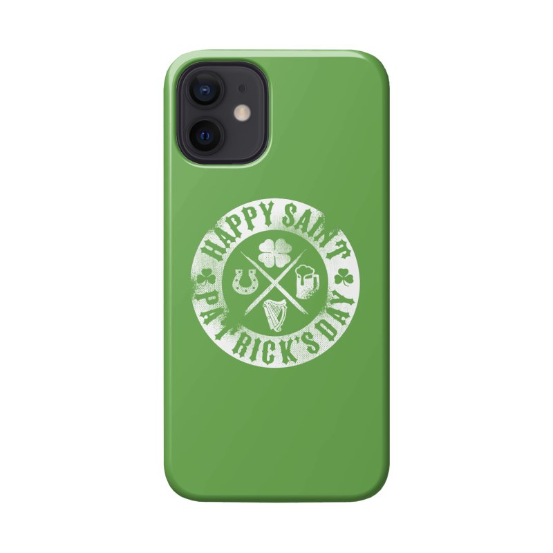 St. Patrick's Day Badge Logo Accessories Phone Case by Celtic Hammer Club