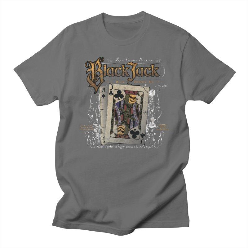 Black Jack Pumpkin Ale Men's T-Shirt by Celtic Hammer Club