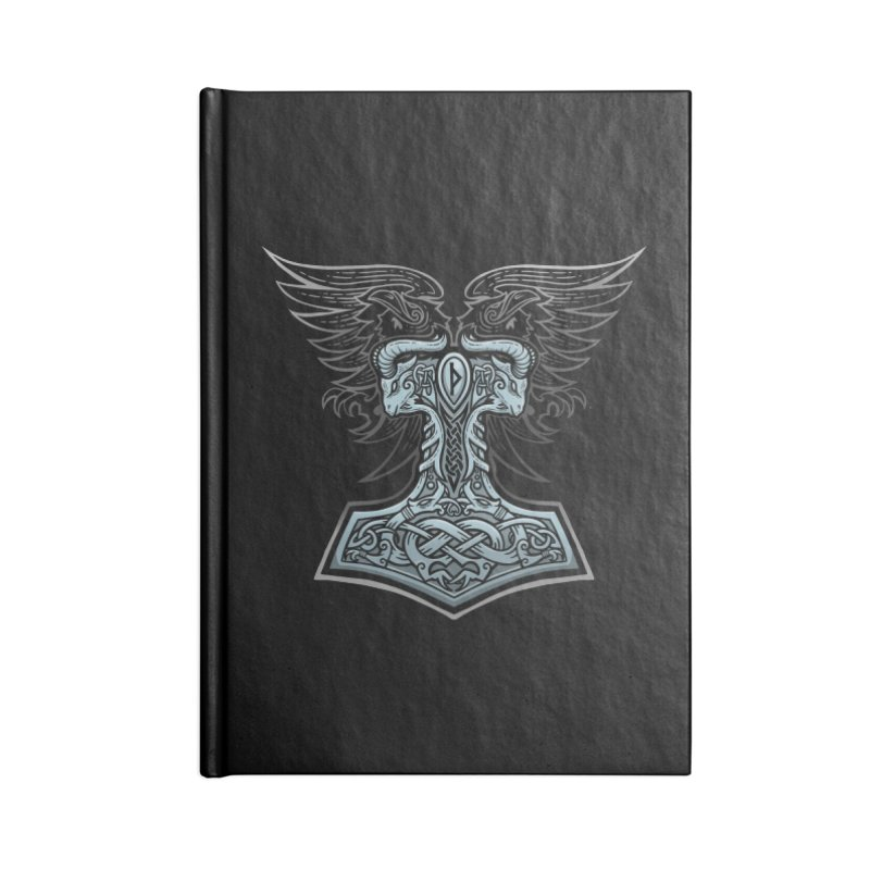 Thor's Rage Accessories Notebook by Celtic Hammer Club