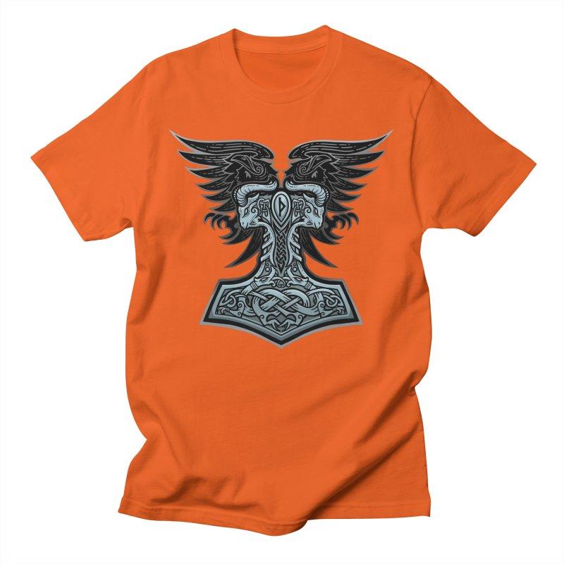 Thor's Rage Men's T-Shirt by Celtic Hammer Club