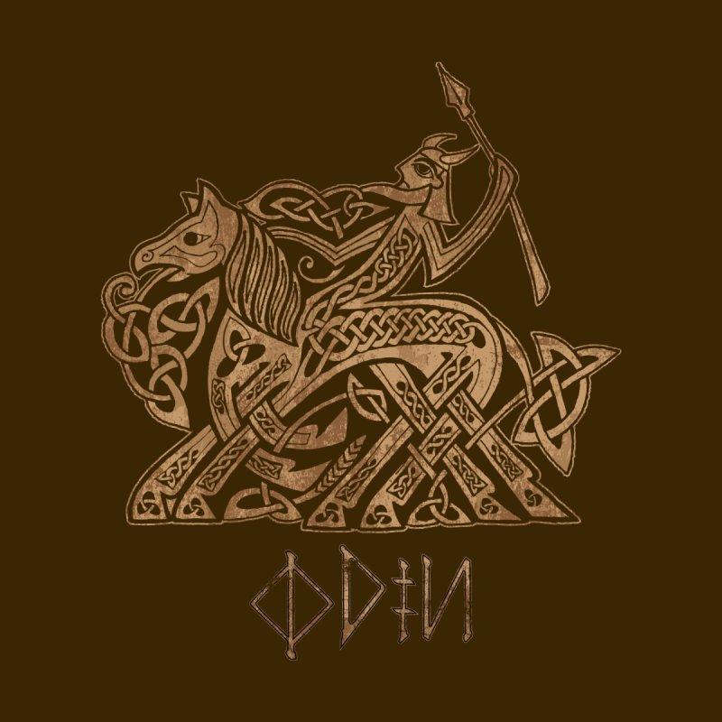 Odin Entering Valhalla on Sleipnir by Celtic Hammer Club Apparel