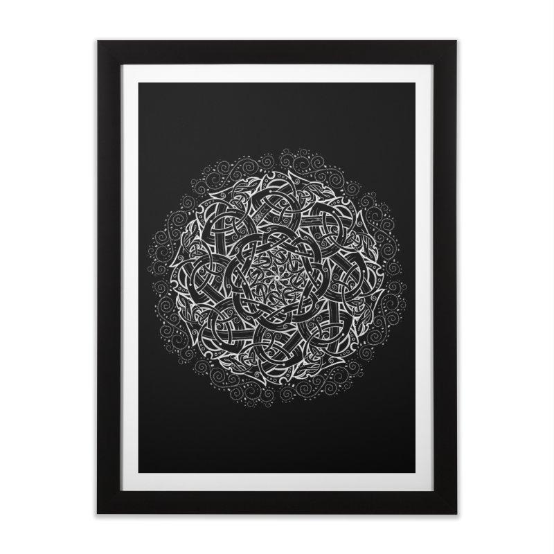 Ragnar's Fate Home Framed Fine Art Print by Celtic Hammer Club