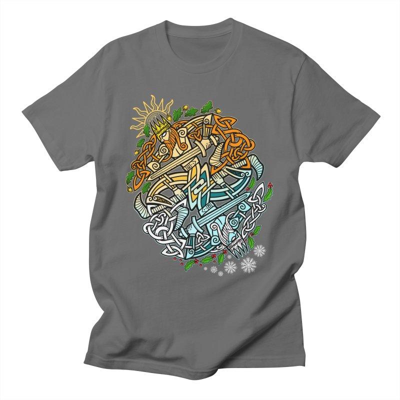 Solstice Showdown Men's T-Shirt by Celtic Hammer Club