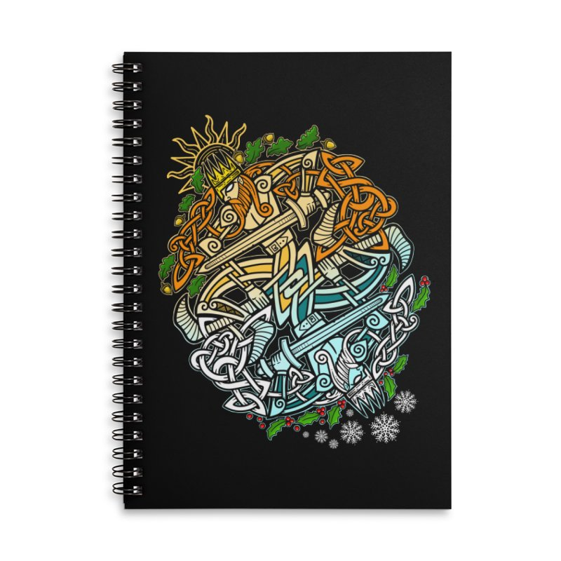Solstice Showdown Accessories Notebook by Celtic Hammer Club
