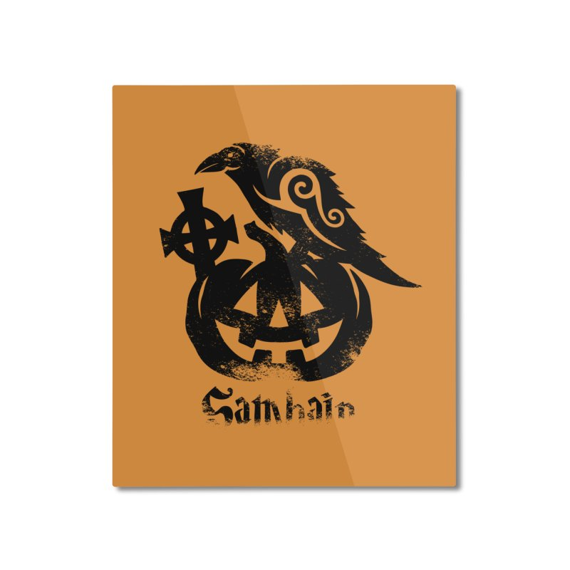 Samhain Home Mounted Aluminum Print by Celtic Hammer Club