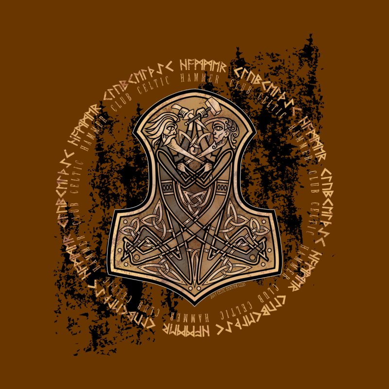 Mjölnir: Odin Vs Thor by Celtic Hammer Club Apparel
