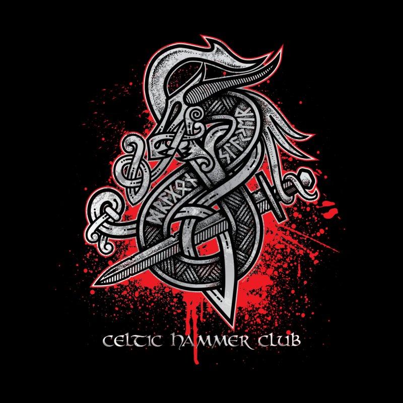 Dragon Slayer (Grey) None  by Celtic Hammer Club Apparel