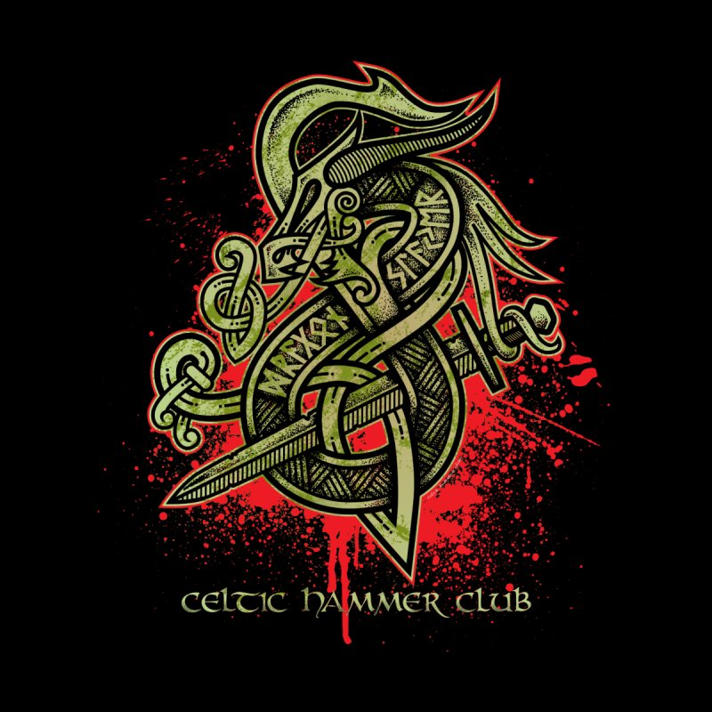 Dragon Slayer (Green) by Celtic Hammer Club Apparel