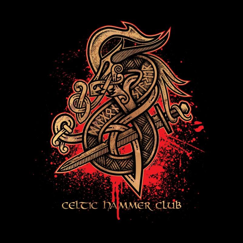 Dragon Slayer (Gold) by Celtic Hammer Club Apparel