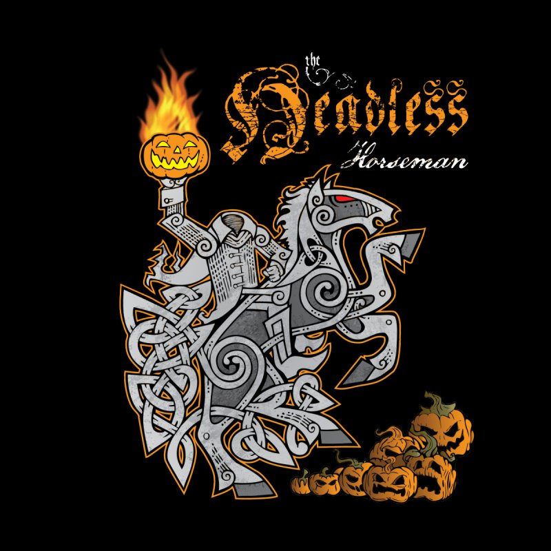 The Headless Horseman Kids T-Shirt by Celtic Hammer Club