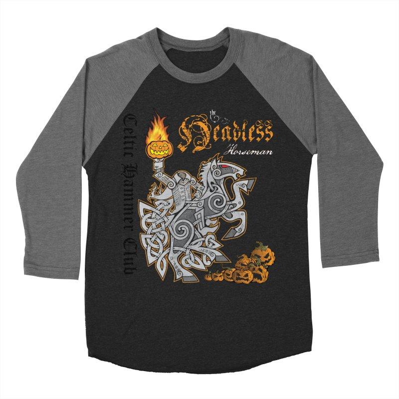 The Headless Horseman Women's Longsleeve T-Shirt by Celtic Hammer Club