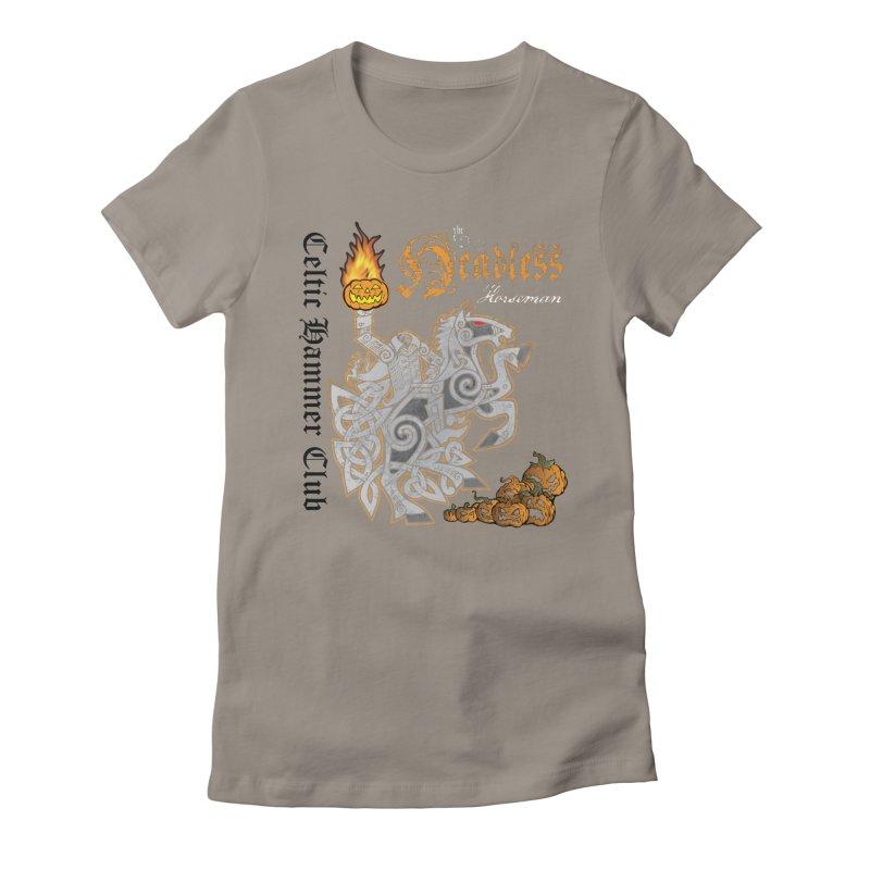 The Headless Horseman Women's T-Shirt by Celtic Hammer Club