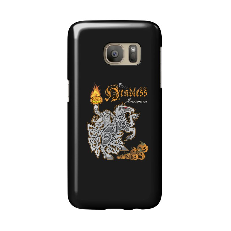 The Headless Horseman Accessories Phone Case by Celtic Hammer Club