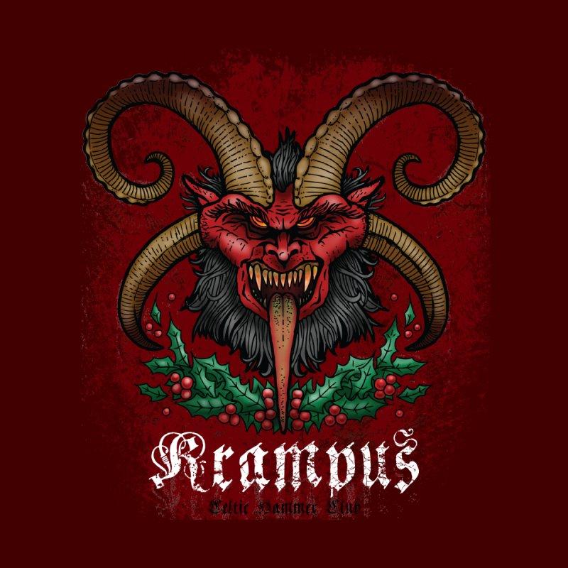 Krampus None  by Celtic Hammer Club Apparel