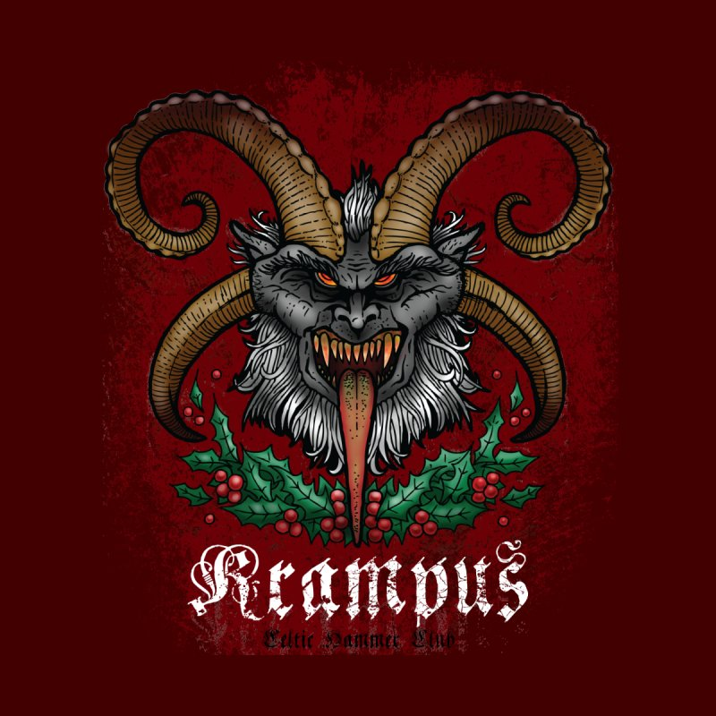 Krampus None  by Celtic Hammer Club Apparel